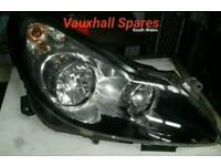 Vauxhall Corsa D Front Drivers Side Headlight