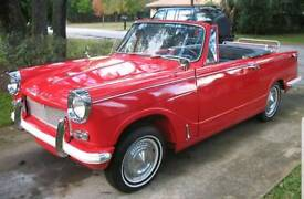 Triumph Herald 1147cc engine and gearbox