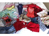 Girls clothes bundle 21 items Age 4-5