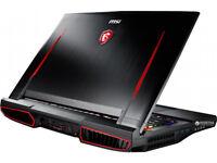 "MSI 17.3"" GT75VR Gaming Laptop,i7 7820HK,256GB SSD,1TB HDD,16GB RAM,8GB GTX 1080"