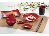 Brandnew Chinese Style Red & Black Melamine Tableware £0.5 - £3.00