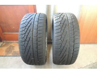 245 40 19 Pirelli SZero W240, XL M+S Winter x 2 A Pair, 6.2mm (F1 Tyres) Y4449