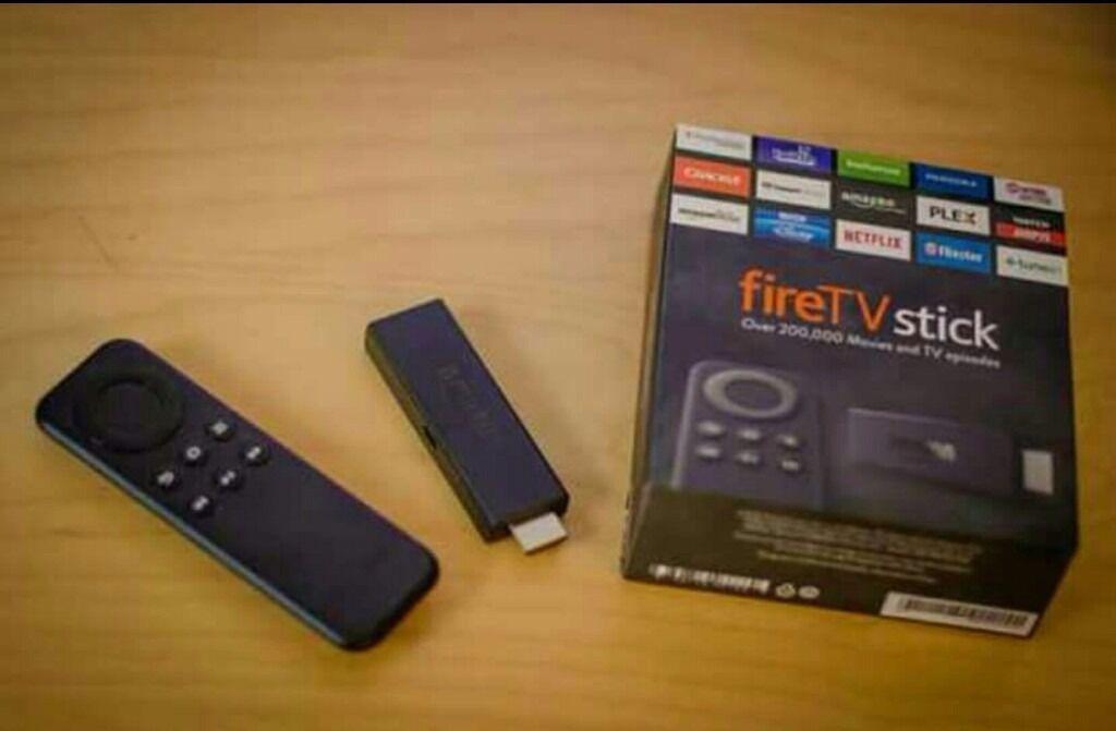 Amazon fire tv stick fullyloaded.