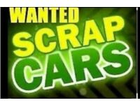 SCRAP CARS VANS WANTED TODAY BEST PRICE PAID