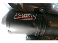 YAMAHA YZF R125 Giannelli EXHAUST VERY deep LOUD sound! for sale  Liverpool, Merseyside