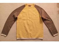 Brand new men's large Duffer of St George yellow jumper. 100% wool. Buyer must collect.