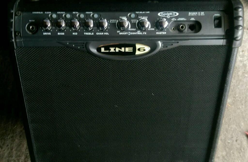 Line 6 Spider II 30w amp
