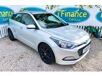 CAN'T GET CREDIT? CALL US! Hyundai i20 1.2 SE, 2015, Manual, 5 Doors - £200 DEPOSIT, £46 PER WEEK