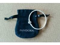 Pandora kids bracelet, hallmarked 925 stirling silver