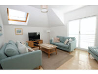 Musselburgh - Beautiful Light Modern Fully Furnished 2 Bedroom Flat with parking