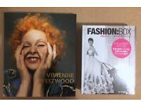 Vivienne Westwood and Fashion Box books