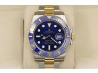 Rolex Submariner 116613 Two Tone Gold