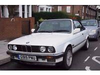 BMW 320i Convertible E30