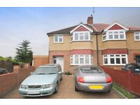 SPACIOUS FOUR BEDROOM SEMI-DETACHED HOUSE IN BEDFONT near to feltham stanwell heathrow airport