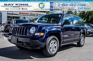 2016 Jeep Patriot SPORT | AUTOMATIC | A/C | LOW KM'S