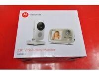 "Motorola MBP483-G 2.8"" Video Baby Monitor Brand New Unused £80"