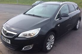 Vauxhall Astra Sports Tourer 2012 CDTi 163bhp LOW MILES