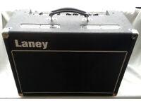 LANEY VC30 VALVE GUITAR AMPLIFIER, C/W 2 CHANNEL LANEY FOOT SWITCH.