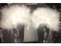 Fluffy Fur Slides Womens Sliders / Rihanna Style