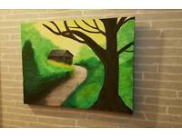 Canvas Hand-Painted *Cheap price