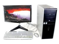 HP Compaq DC7800P + Acer 20 inch monitor Complete Desktop Computer kit. PRICE SLASHED!!!