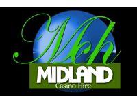 Midlands Fun Casino Table Hire