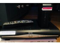 SkyHD+ WiFi TV box and matching Broadband router