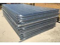 💧Round Top New Heras * Temporary Security Fencing Sets * X 35