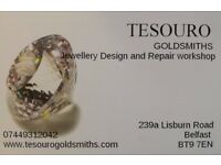 Jewellery Design and repair workshop. Lisburn Road