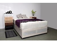 4ft Or 4ft6 Double Mattress From £59! Choose Orthopaedic Or Deep Quilt! MORE OPTIONS AVAILABLE!