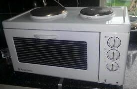 mini oven and hobs couter top