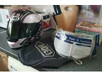 Women's shoei helmet xs