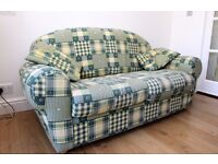 sofa bed /2 seater setee