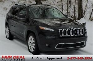 2014 Jeep Cherokee Limited: 4WD/Fully Loaded/Panoramic Roof