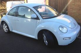 Volkswagen VW Beetle 2.0L 3dr, Ice Blue, 2 Owners, FSH, Manual, 104,600ml, Excellent Condition, MOT
