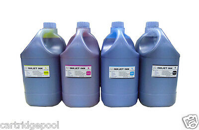 4 Gallon Bulk refill Ink for all  Epson Printer cartridge CISS Black Cyan M Y   for sale  Shipping to India