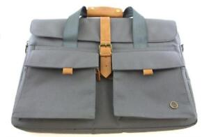 PKG LB06-15-GRY 16in Slim Brief Universal Messenger Laptop Bag Gray (New Other)