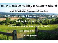 Weekend Break - Unique Walking & Gastro weekend - From £140 pp based on 2 sharing