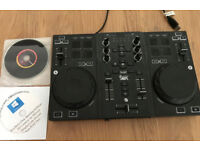 Hercules Dj Control Air Mixing Deck in As New Condition