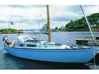 32' WOODEN TRADITIONAL CRUISER/RACER SAIL BOAT LOVELY CONDITION £24950 Offers