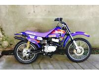 (CHEAPEST IN UK & LAST ONES) BRAND SPANKIN NEW Suzuki 100cc KIDS MOTO X MX Bike UK DELIVERY AVAIL