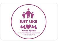 Just Like Mum Nanny Agency