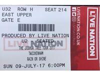 U2 Ticket EXCHANGE