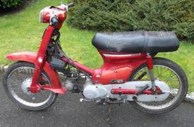 Wanted Honda C50 C70 C90 or any hondas