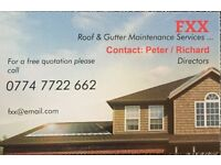 ***FXX*** ROOF & GUTTERING MAINTENANCE SERVICES