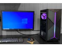 i9 10900 10 Core GTX 16GB DDR4 Windows 10 Gaming PC RGB Gamer Desktop