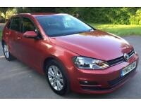 VW GOLF 2.0 TDI 2013 (63reg) vw golf