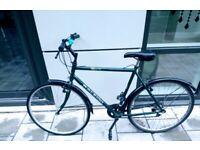 18-Speed Raleigh Hybrid Bike