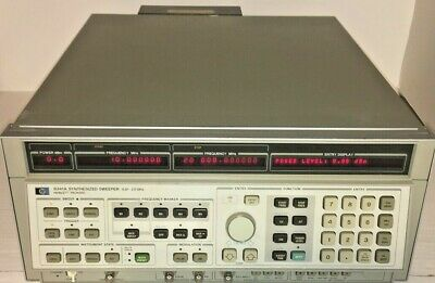 Agilent Hp 8341a Synthesized Sweep Signal Generator 10mhz To 20 Ghz Opt.004