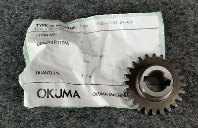 Nos Okuma Cnc Lathe Lc20 127-8351-67 Gear D129